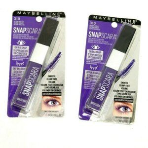 2x Maybelline Snapscara 310 Ultra Violet colored